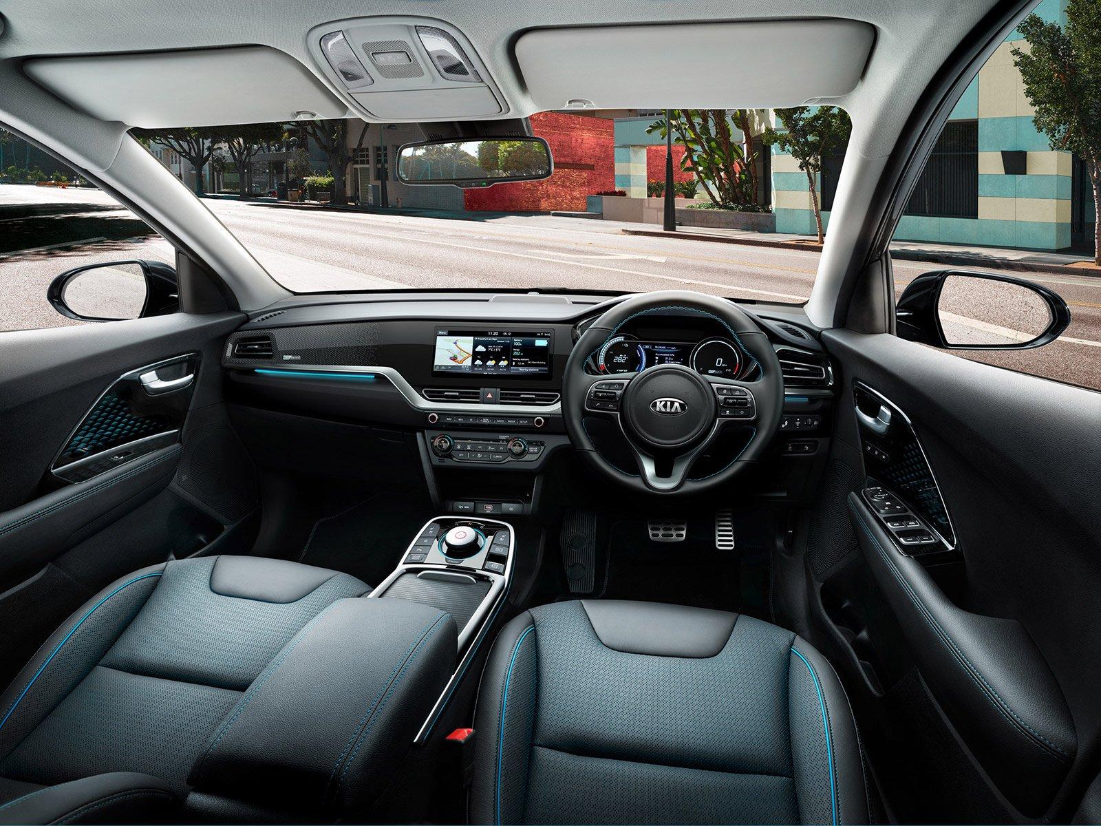 FAMILY SUV: Kia e-Niro 64kWh 3 interior