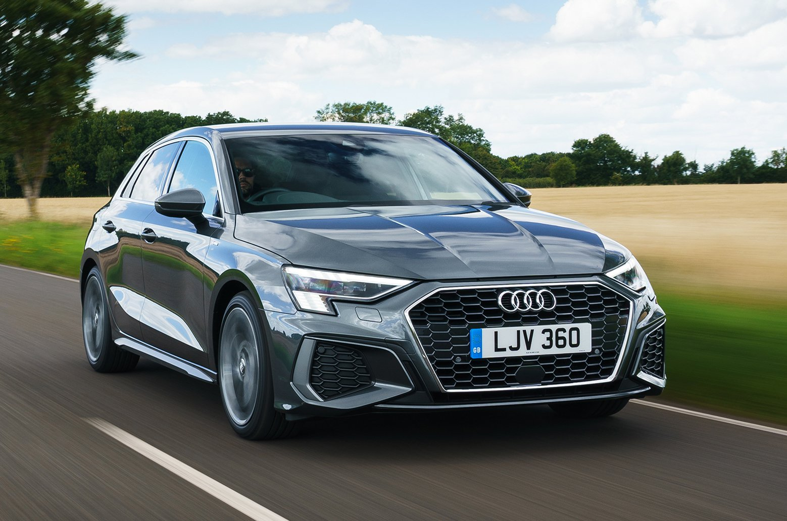 Audi A3 Sportback 2021 front