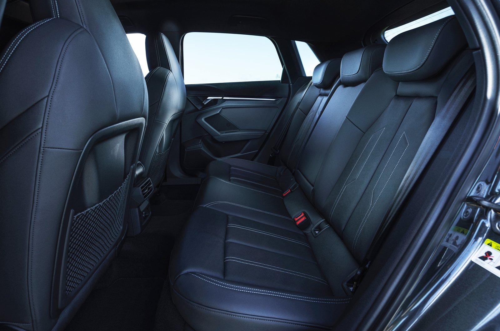 Audi A3 Sportback 2021 rear seats