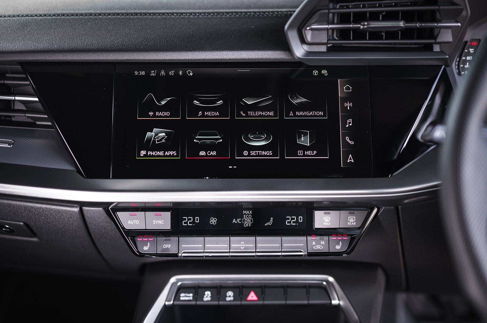Audi A3 Sportback 2020 touchscreen