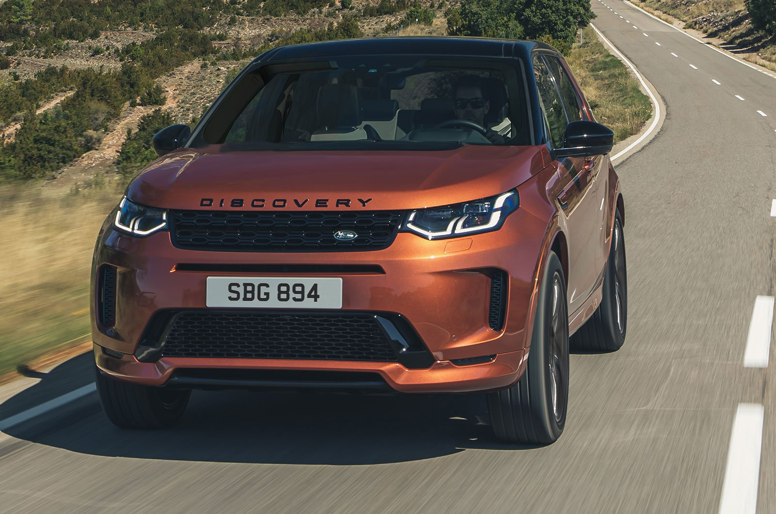 Land Rover Discovery Sport Model Year 2021 front