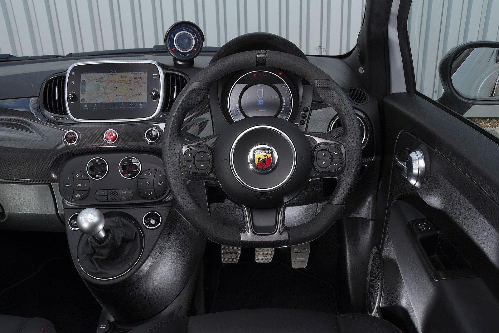 Abarth 595 2020 RHD dashboard