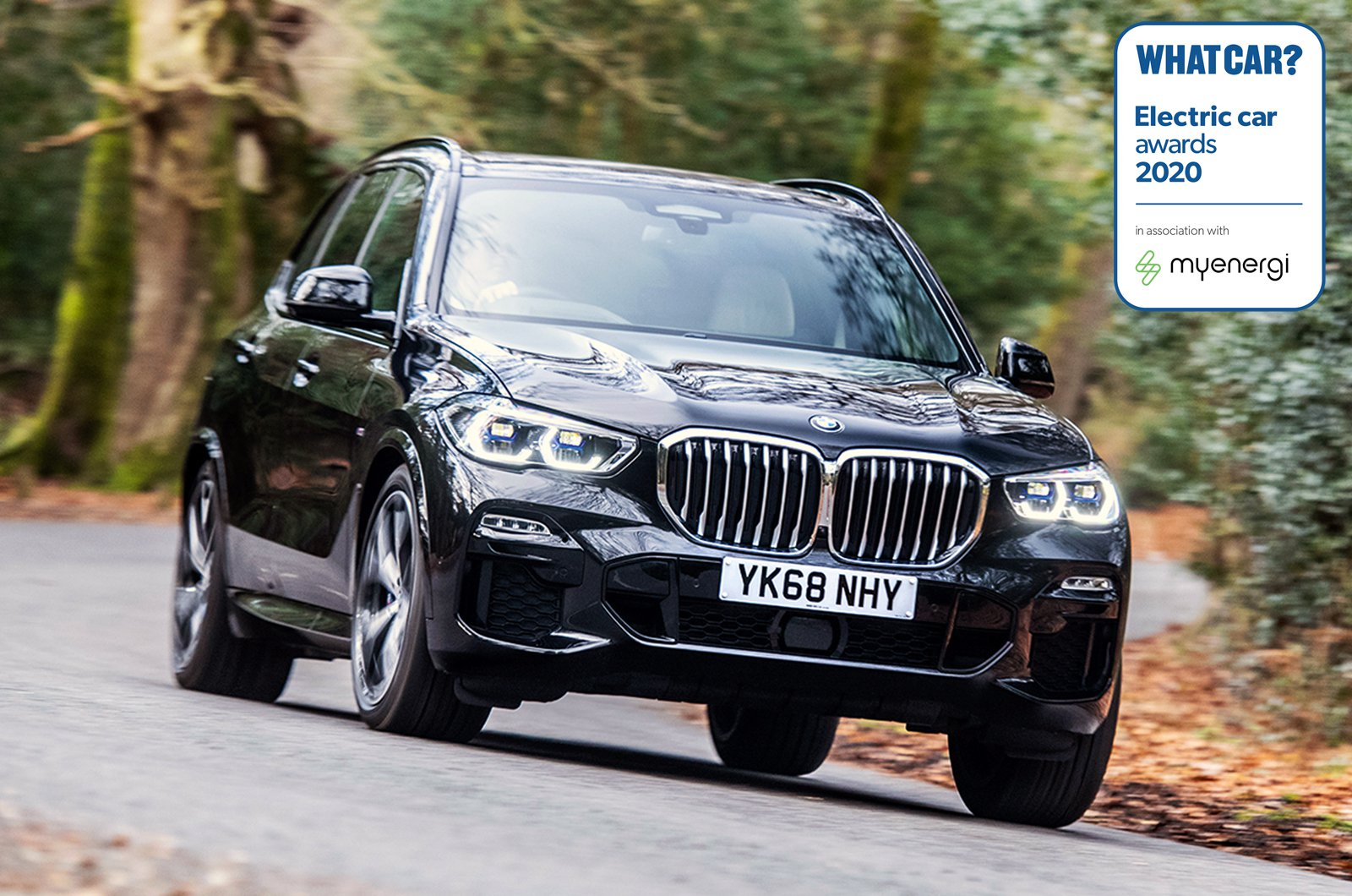 Electric Car Awards - BMW X5 xDrive45e