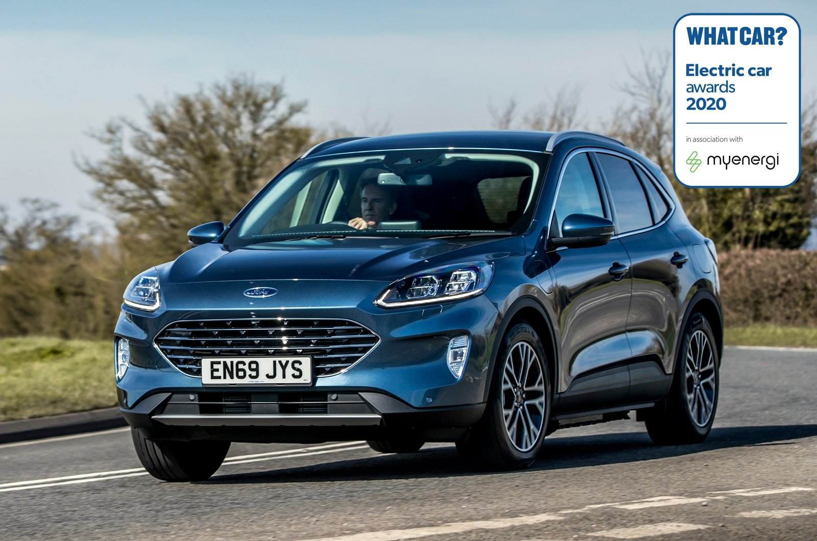 Electric Car Awards - Ford Kuga