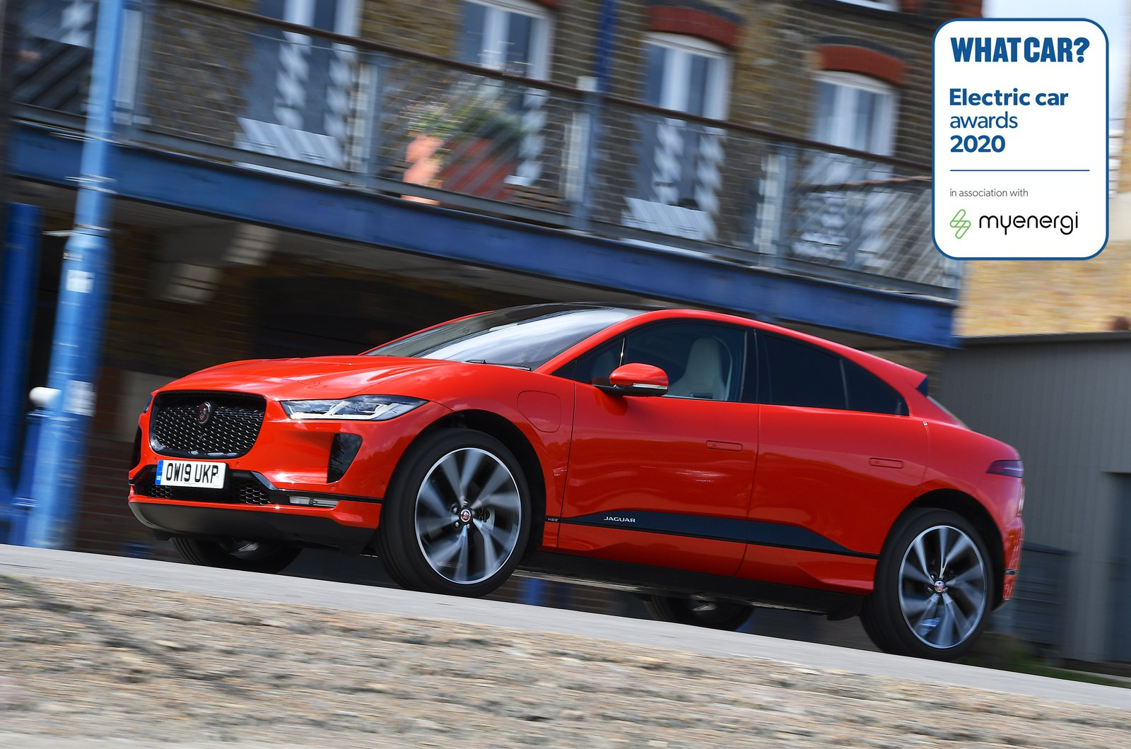 Electric Car Awards - Jaguar I-Pace