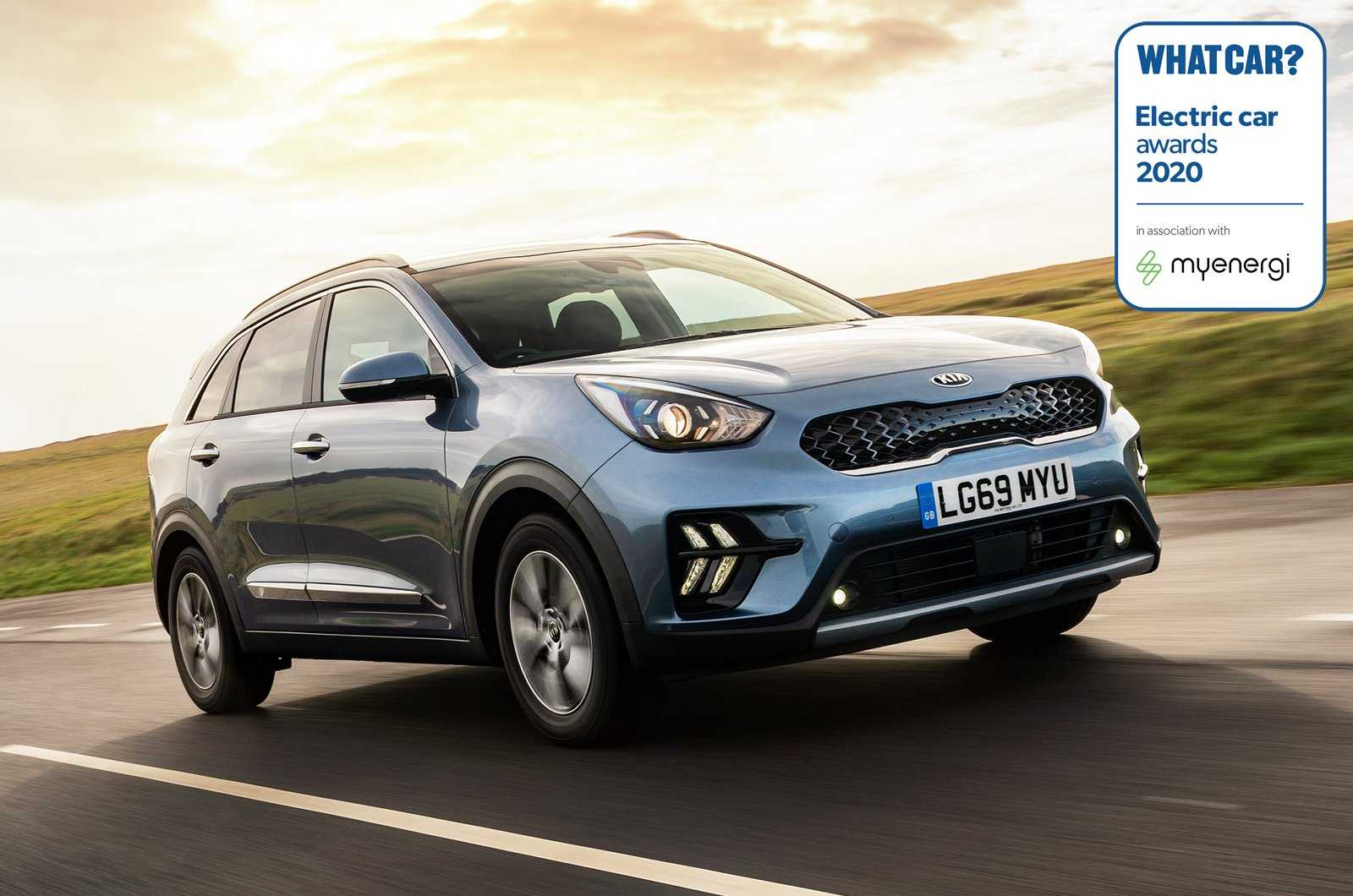 Electric Car Awards - Kia Niro PHEV