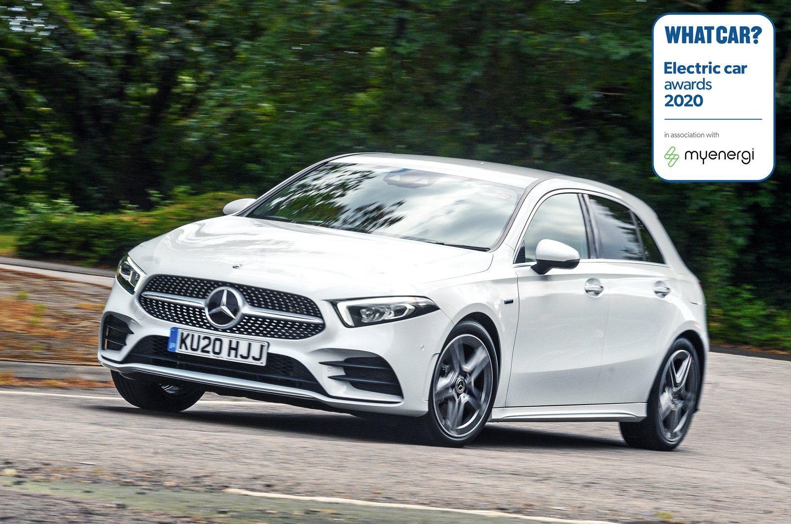 Electric Car Awards - Mercedes A250e