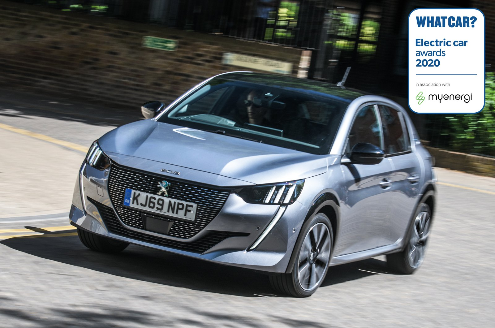 Electric Car Awards - Peugeot e-208