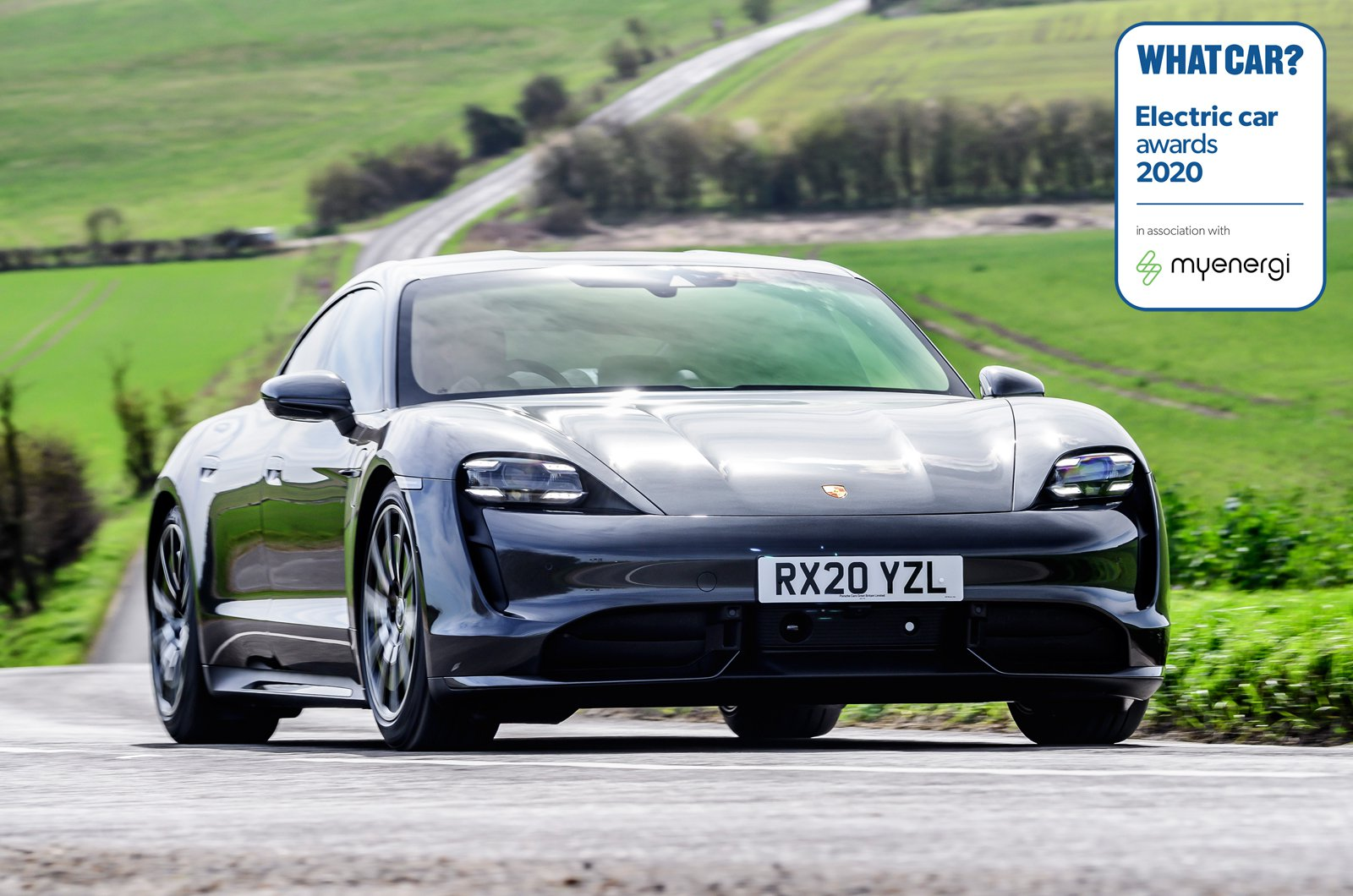 Electric Car Awards - Porsche Taycan