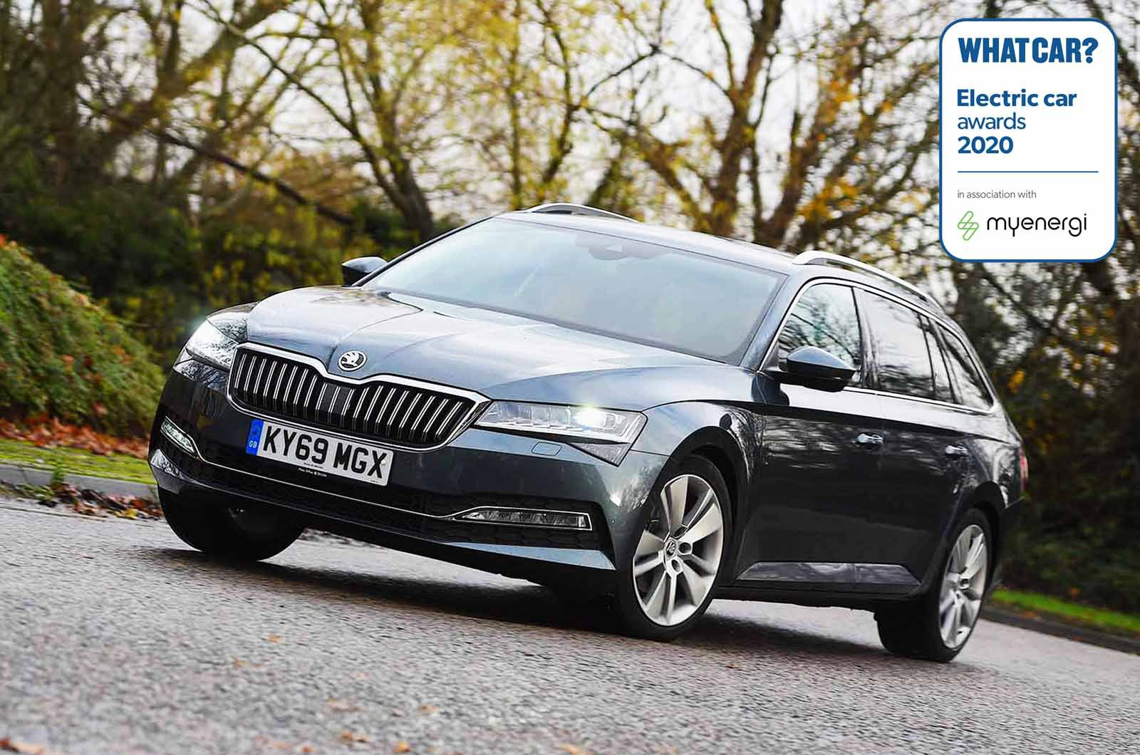 Electric Car Awards - Skoda Superb Estate iV