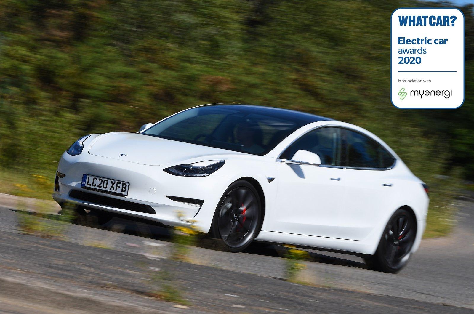 Electric Car Awards - Tesla Model 3