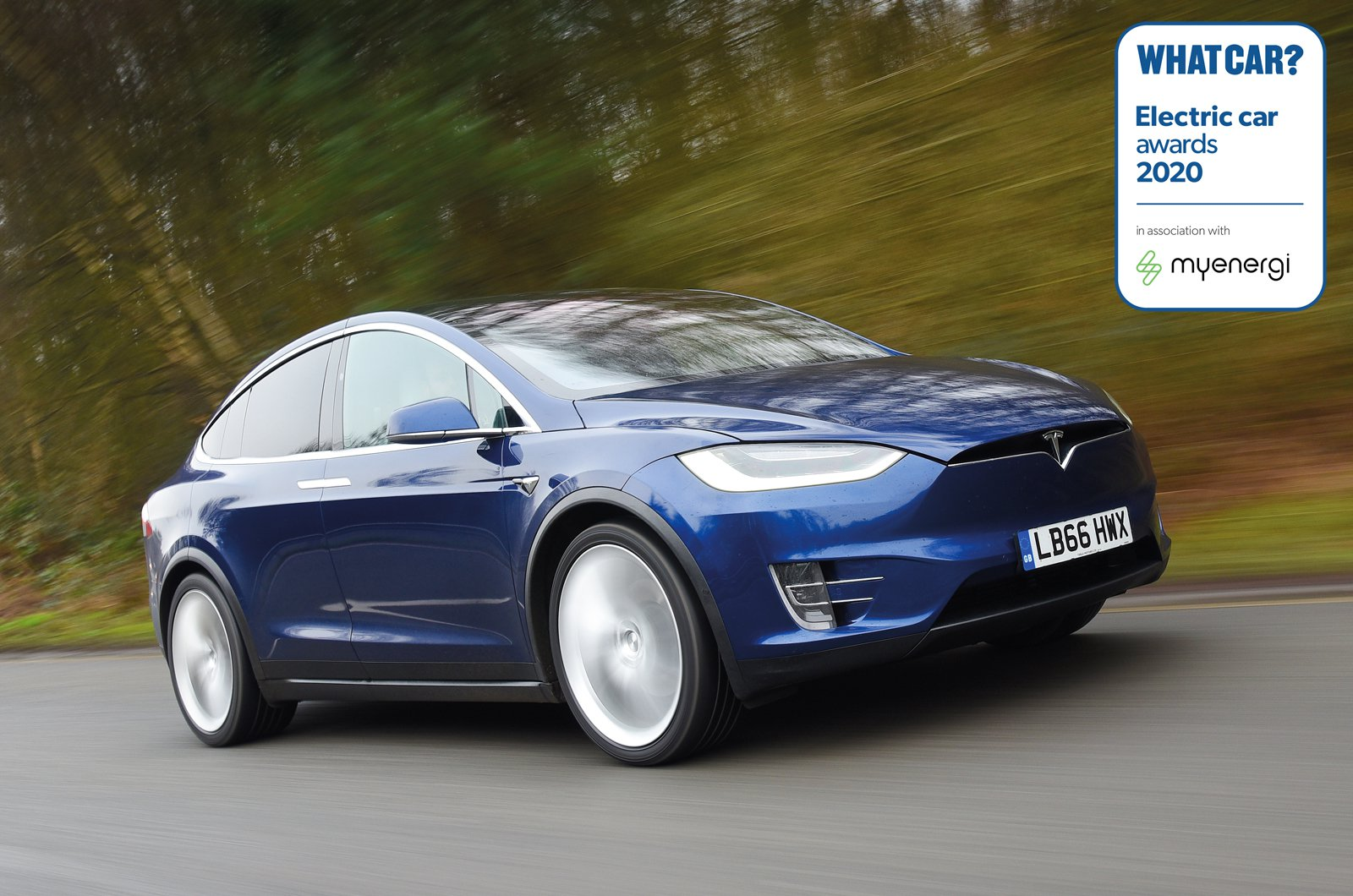 Electric Car Awards - Tesla Model X