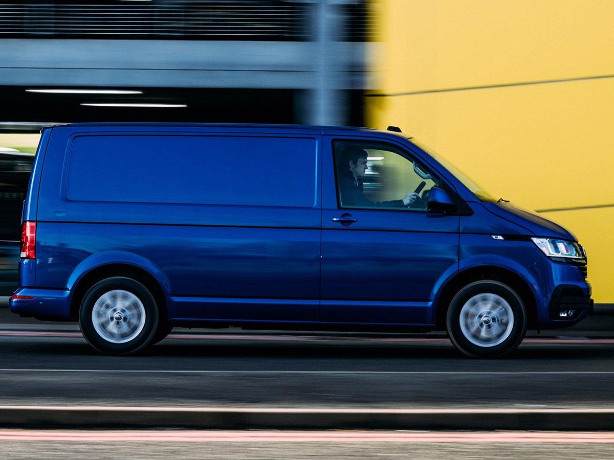 Volkswagen Transporter side profile