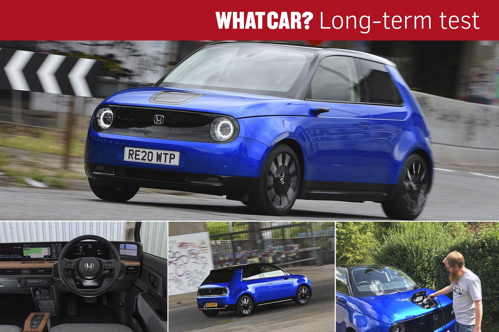 2020 Honda e long term montage