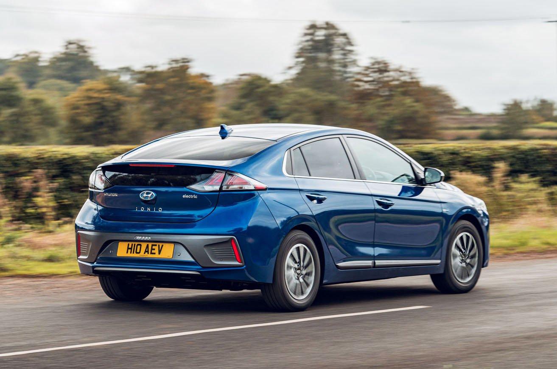 2019 Hyundai Ioniq Electric rear