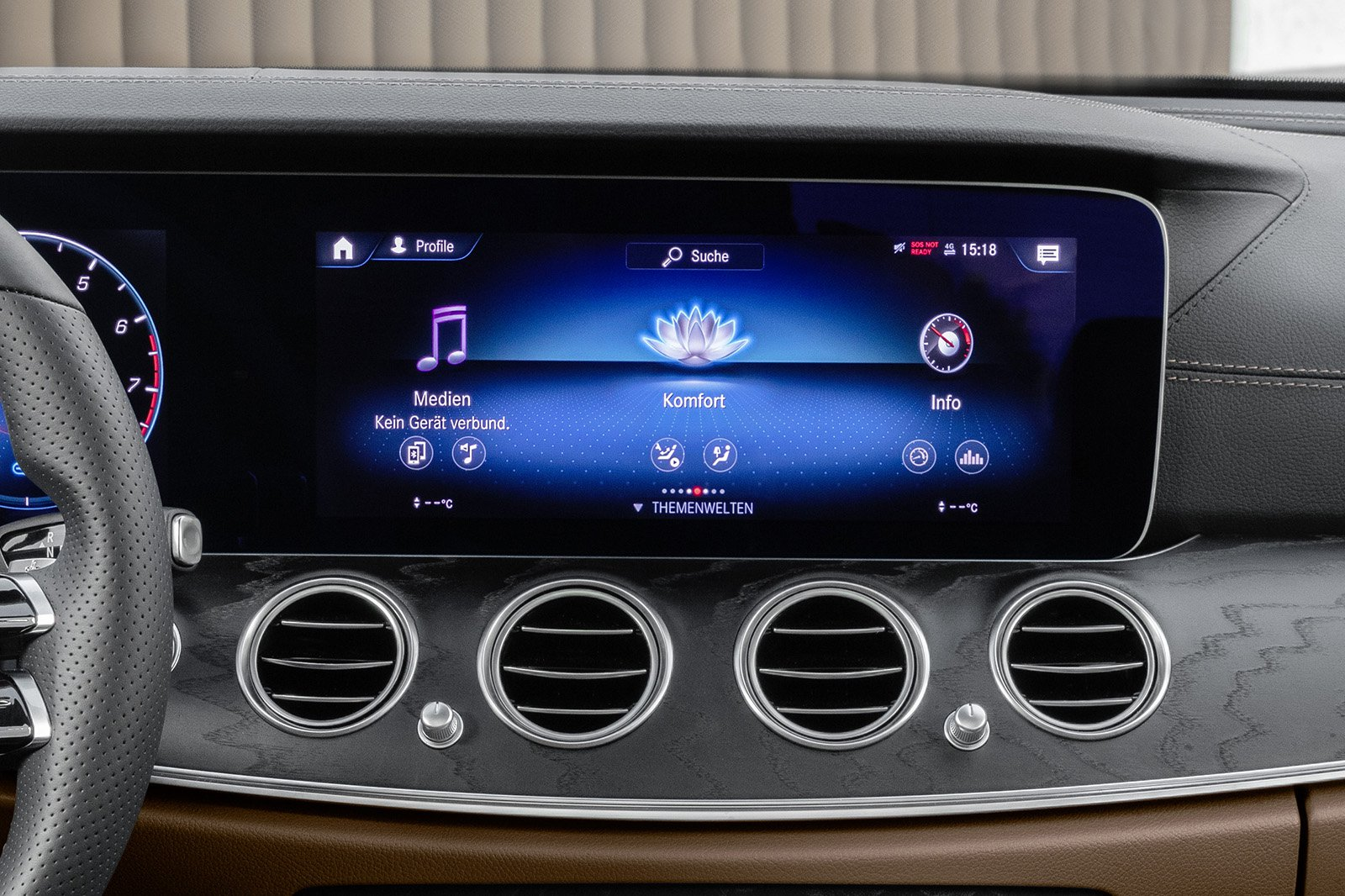 Mercedes E Class 2020 infotainment