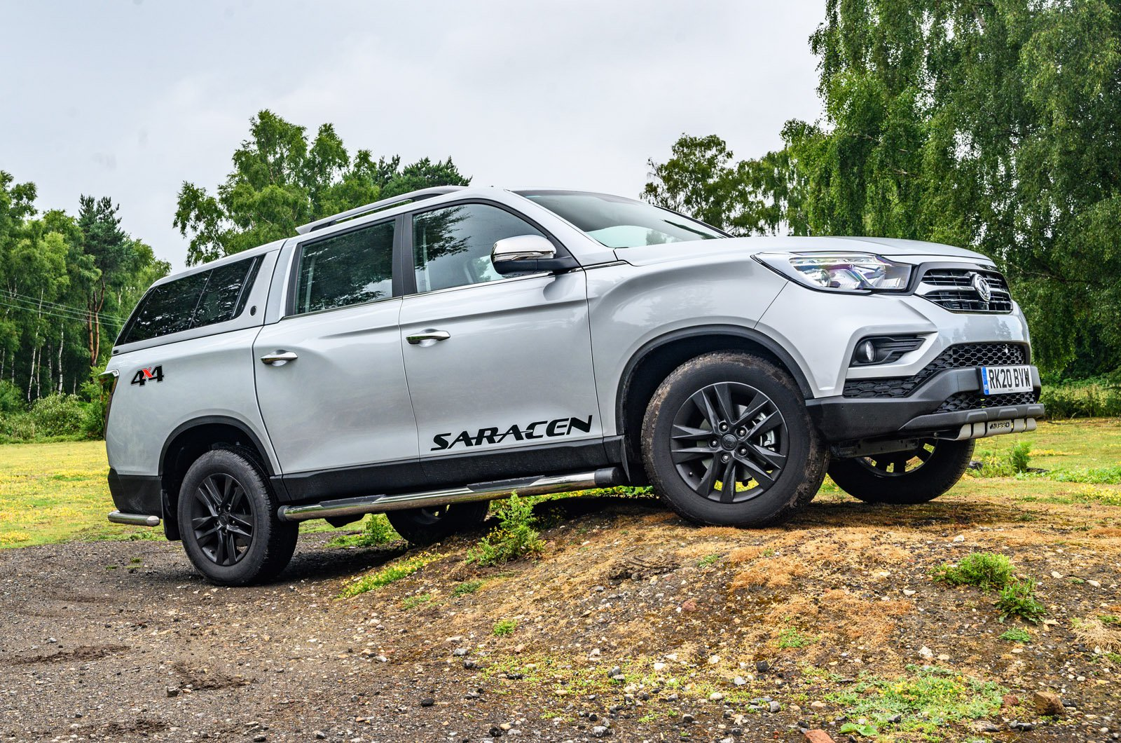 LT Ssangyong Musso off road