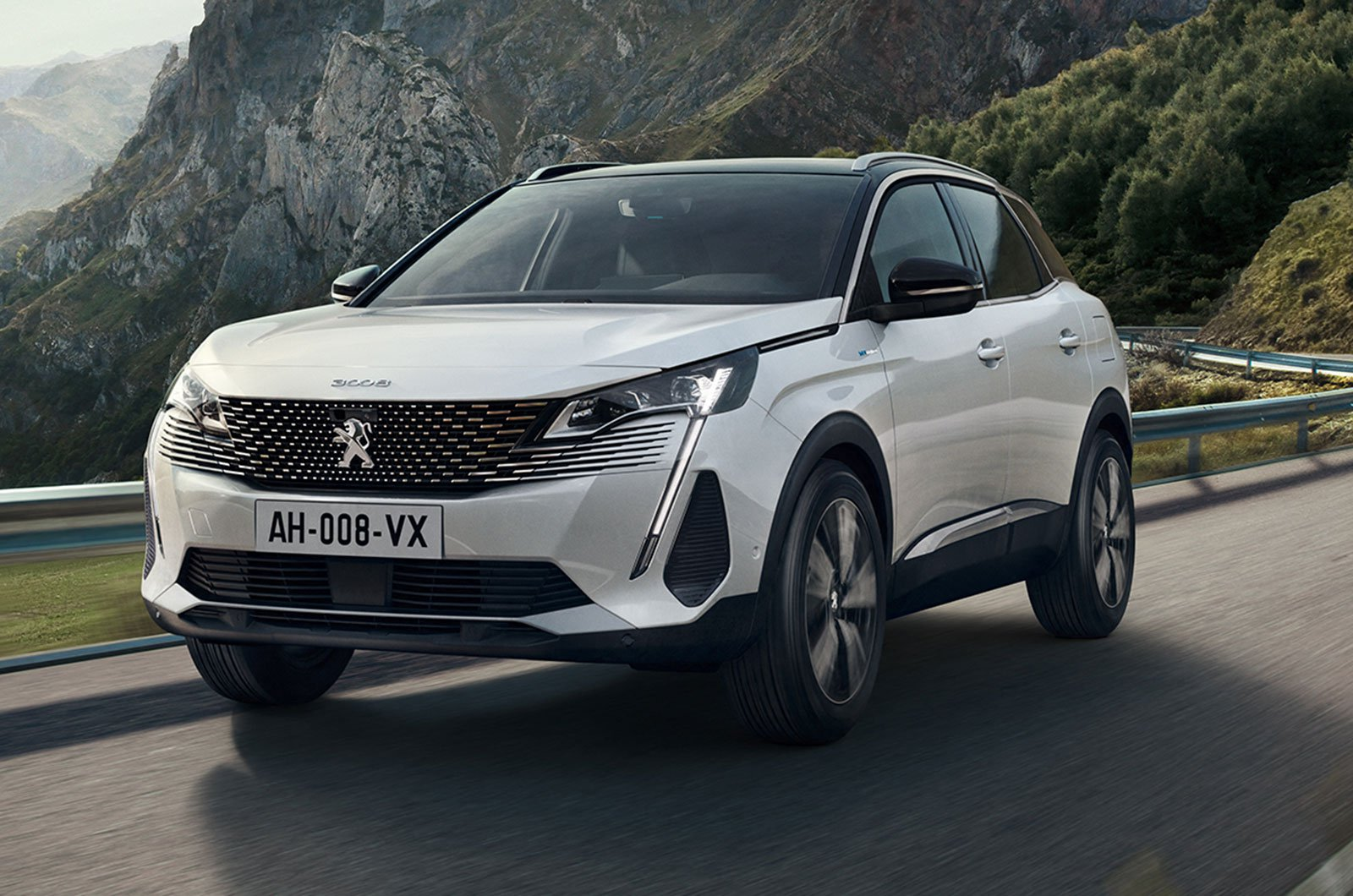 2021 Peugeot 3008 front