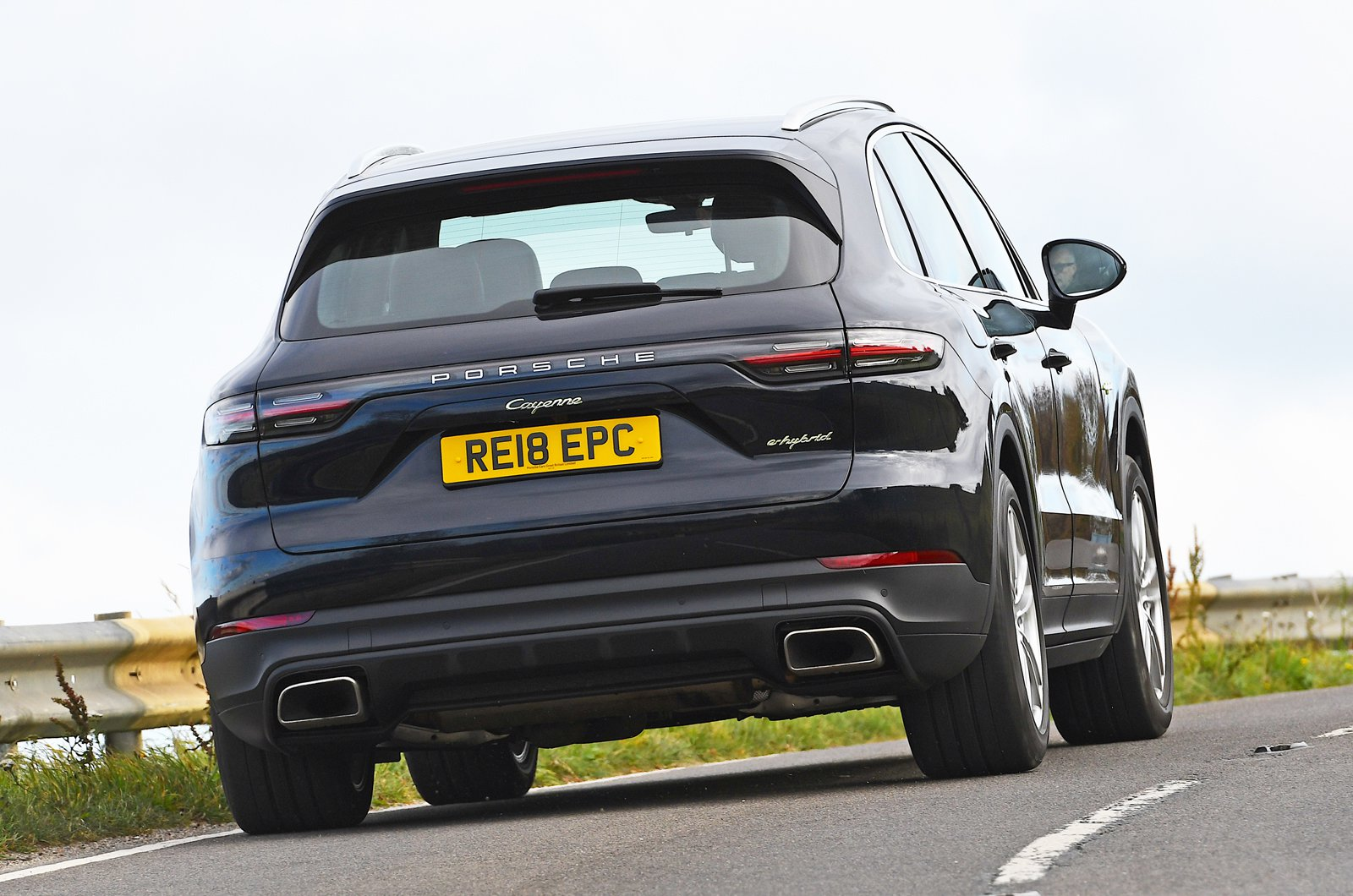 Porsche Cayenne E-Hybrid rear