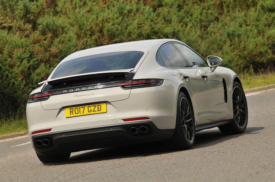 Porsche Panamera e-Hybrid rear