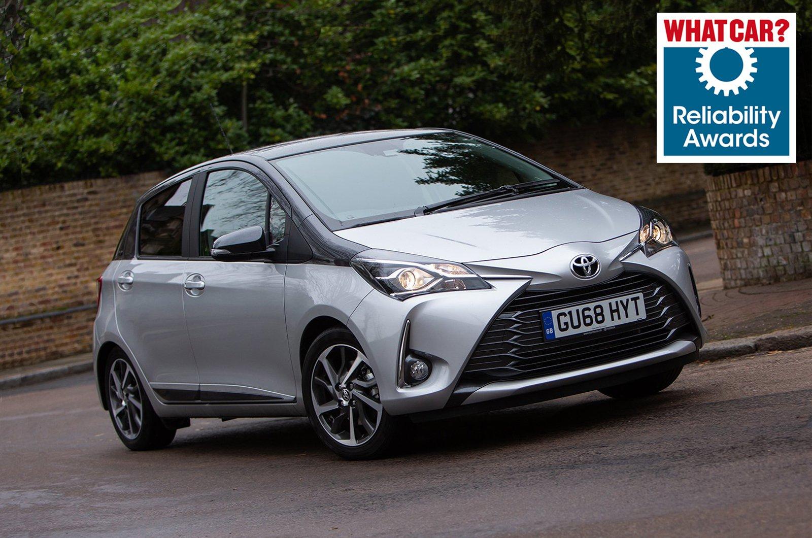 Reliability Award - Toyota Yaris
