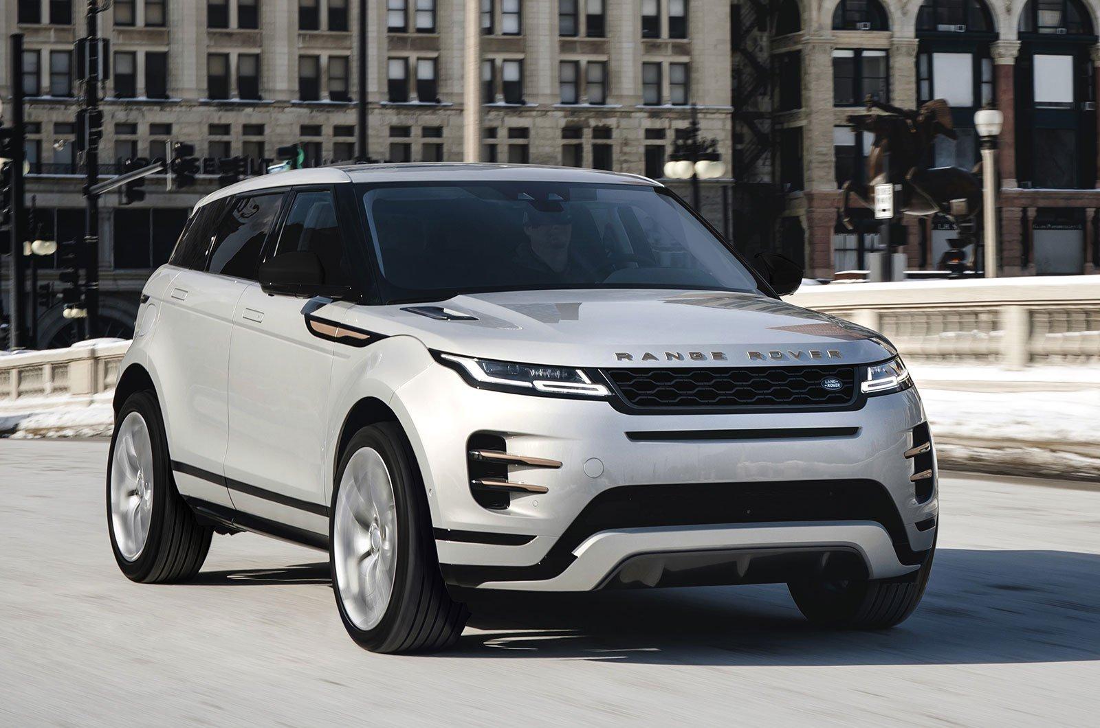 Range Rover Evoque Model Year 2021 front
