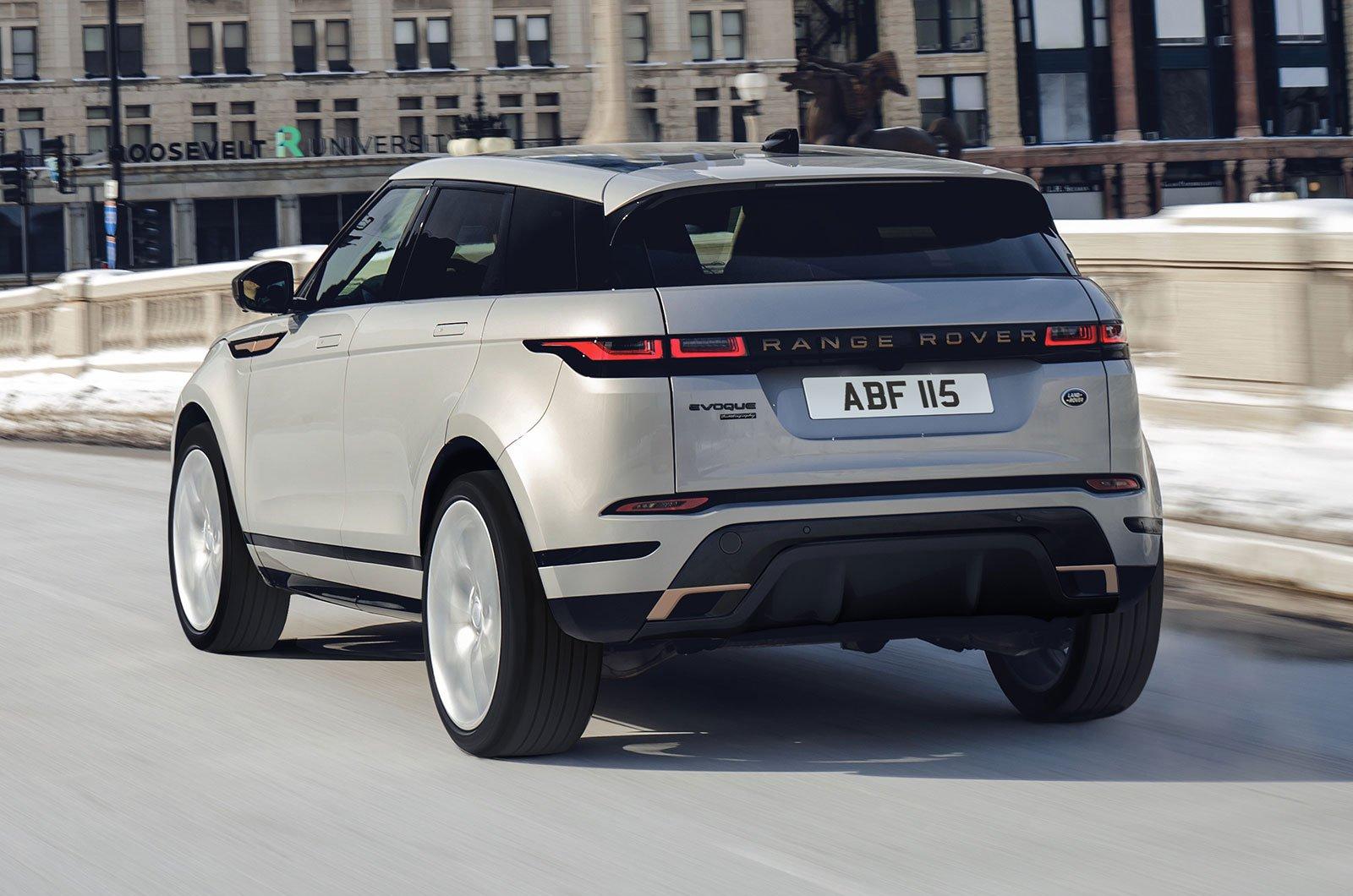 Range Rover Evoque Model Year 2021 rear