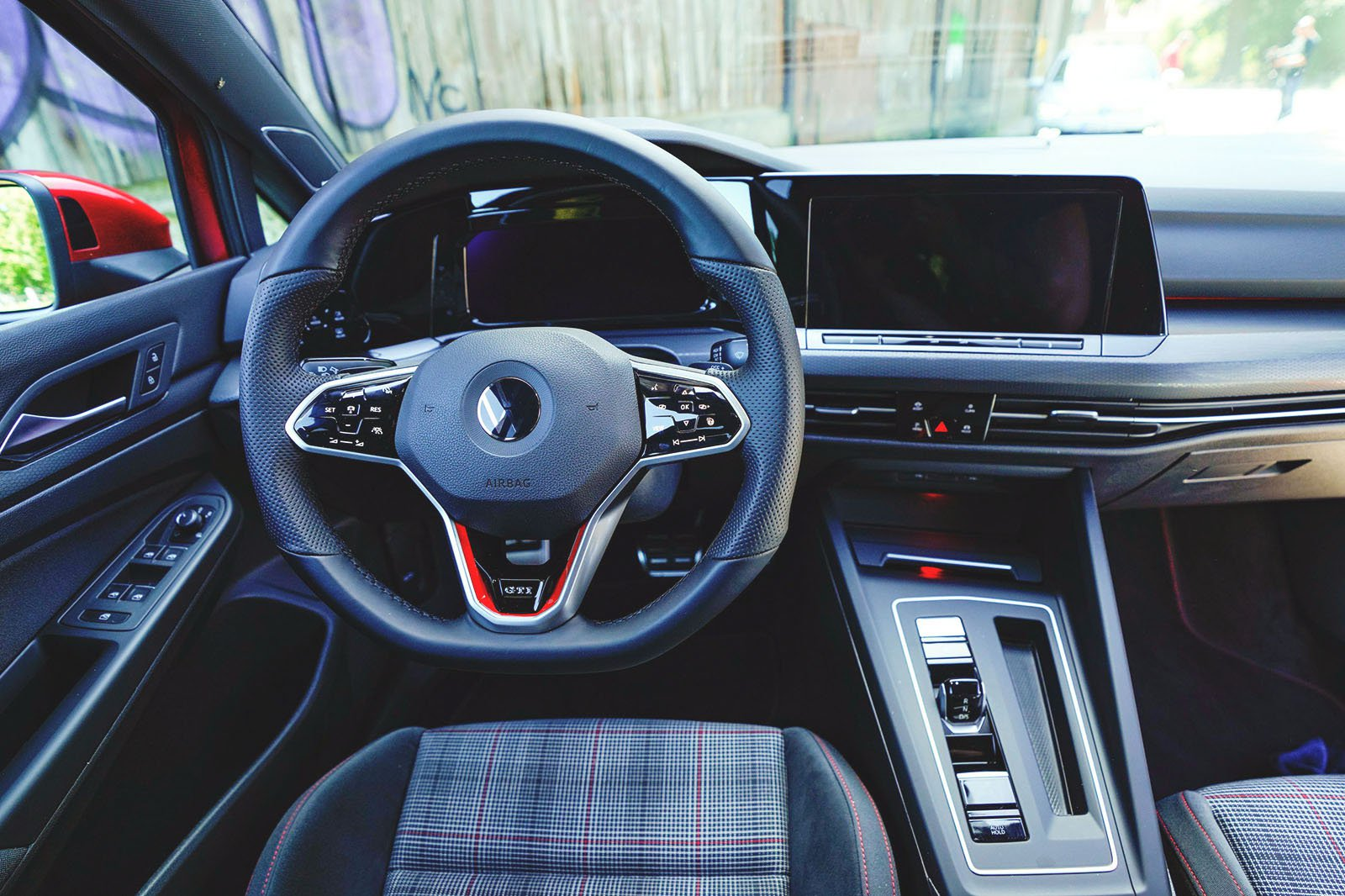 2020 Volkswagen Golf GTI dashboard