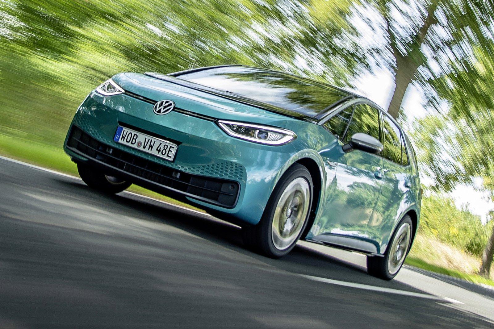 2020 Volkswagen ID 3 front driving