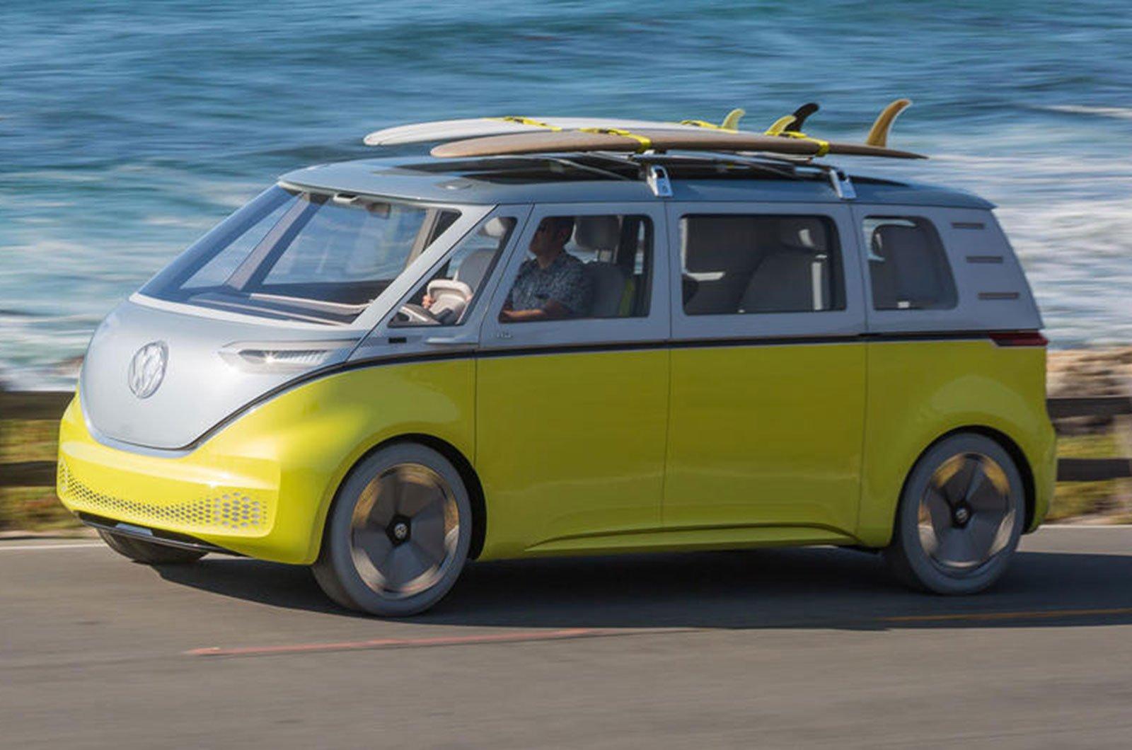 Volkswagen ID Buzz front