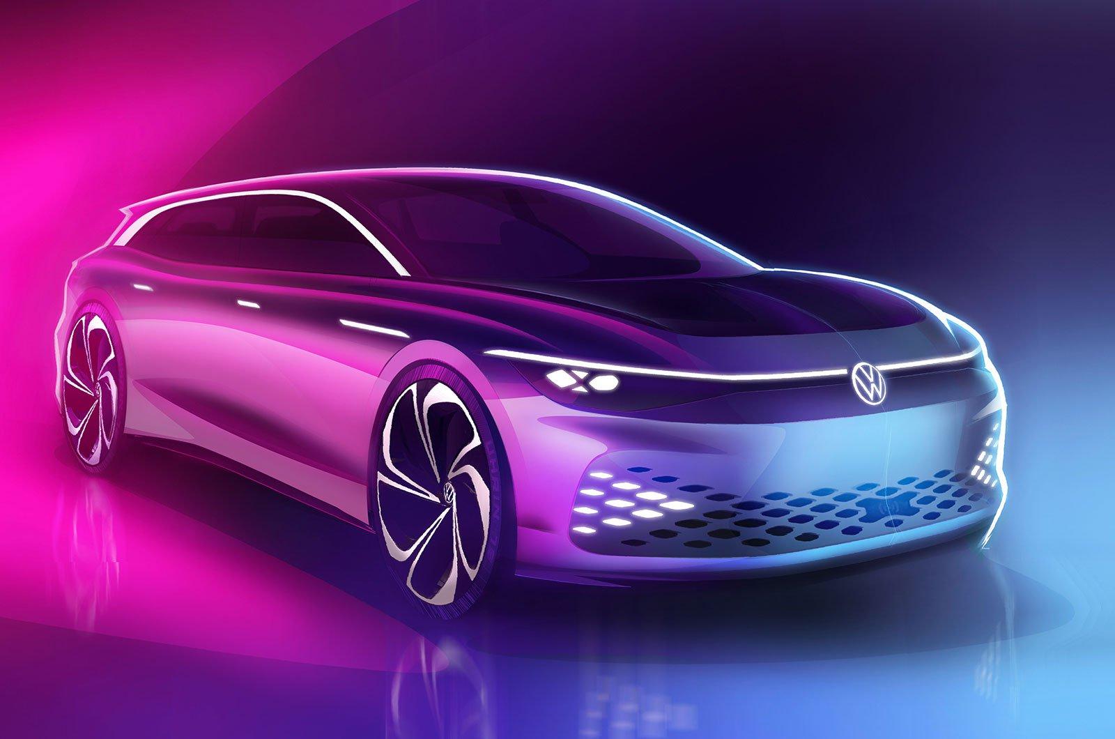 Volkswagen Space Vizzion front