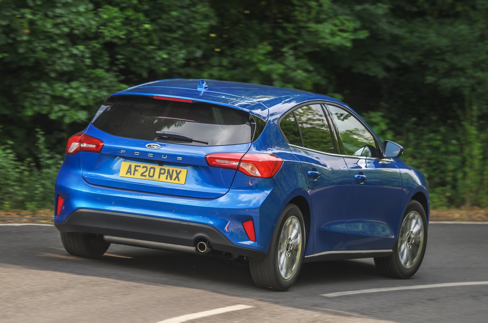 2020 Ford Focus rear action