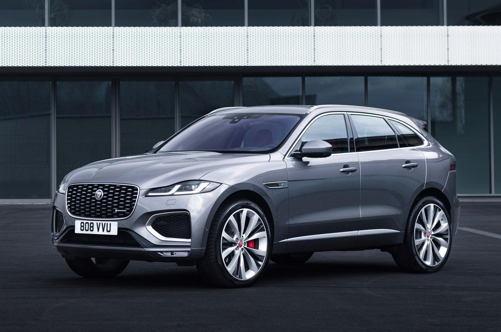 2021 Jaguar F-Pace front static
