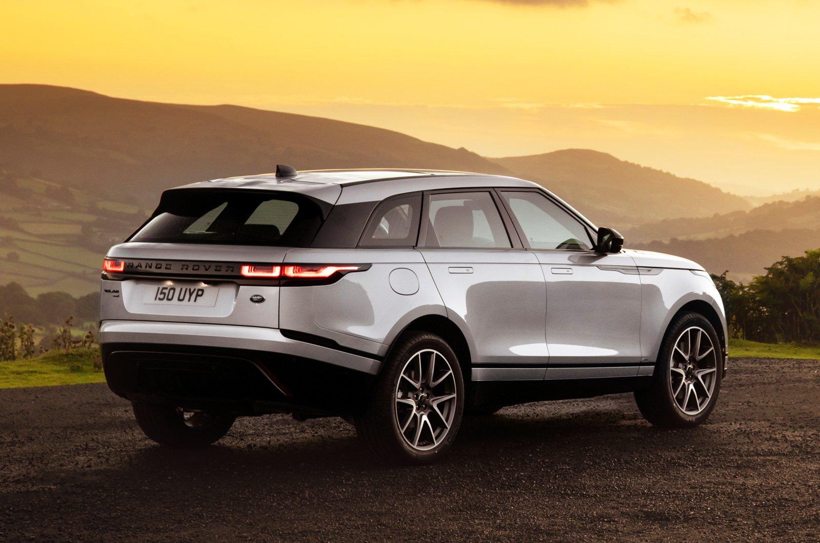 2021 Range Rover Velar rear static