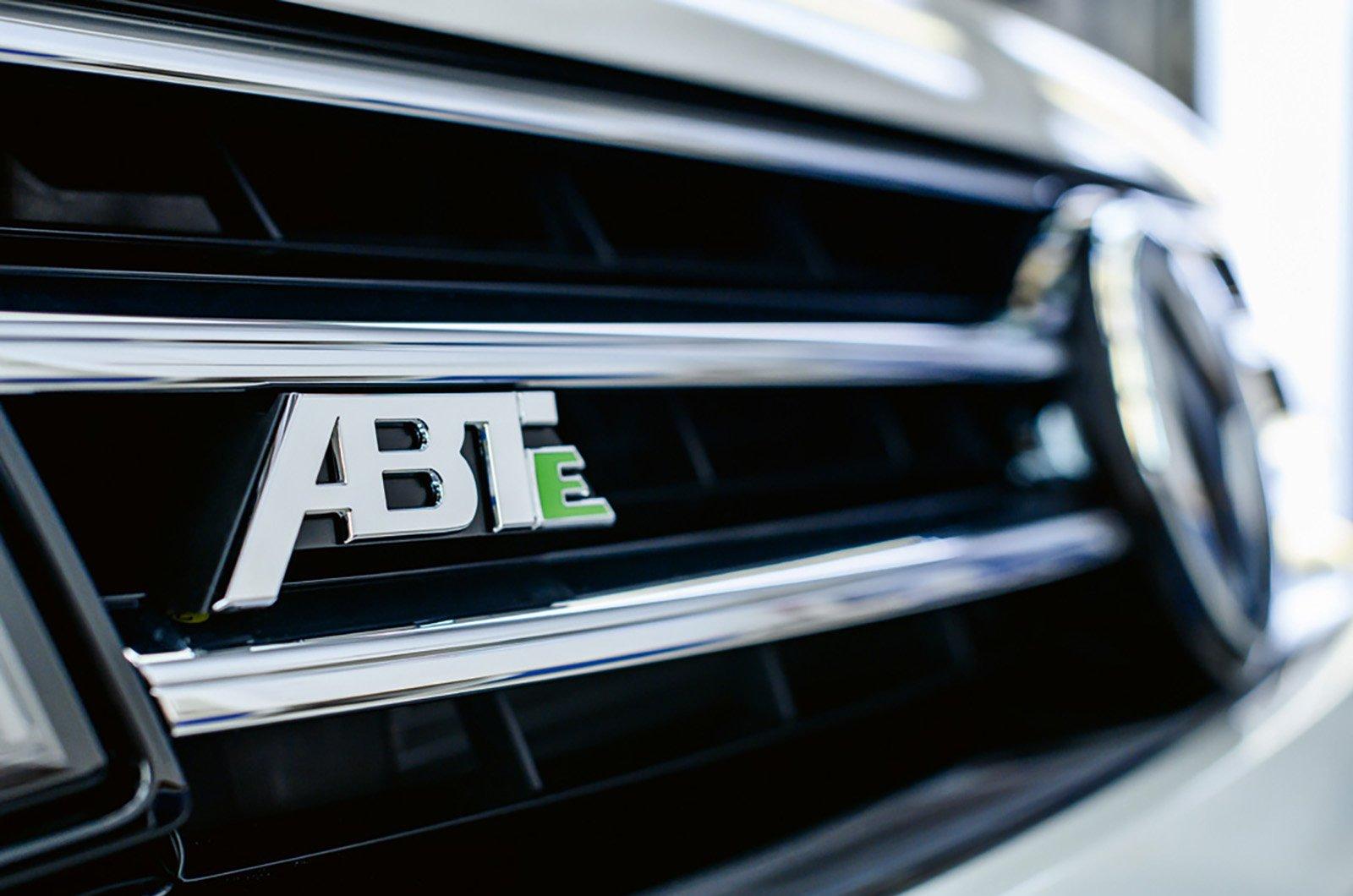 Volkswagen ABT eTransporter detail