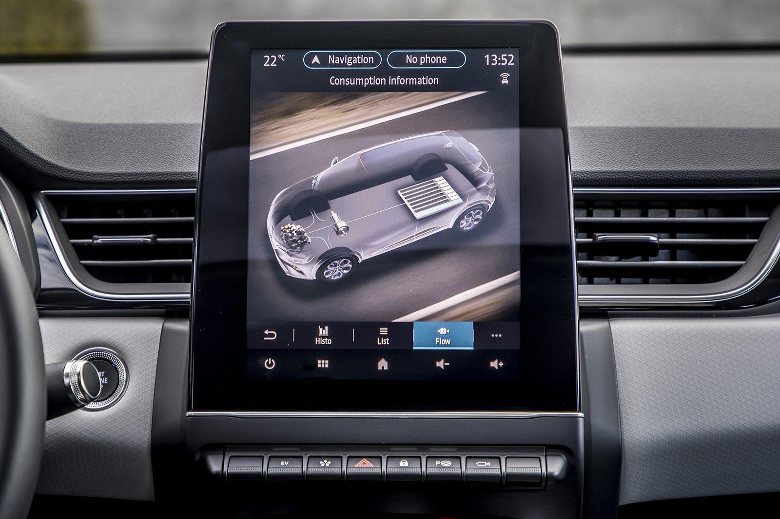 Renault Captur 2020 infotainment