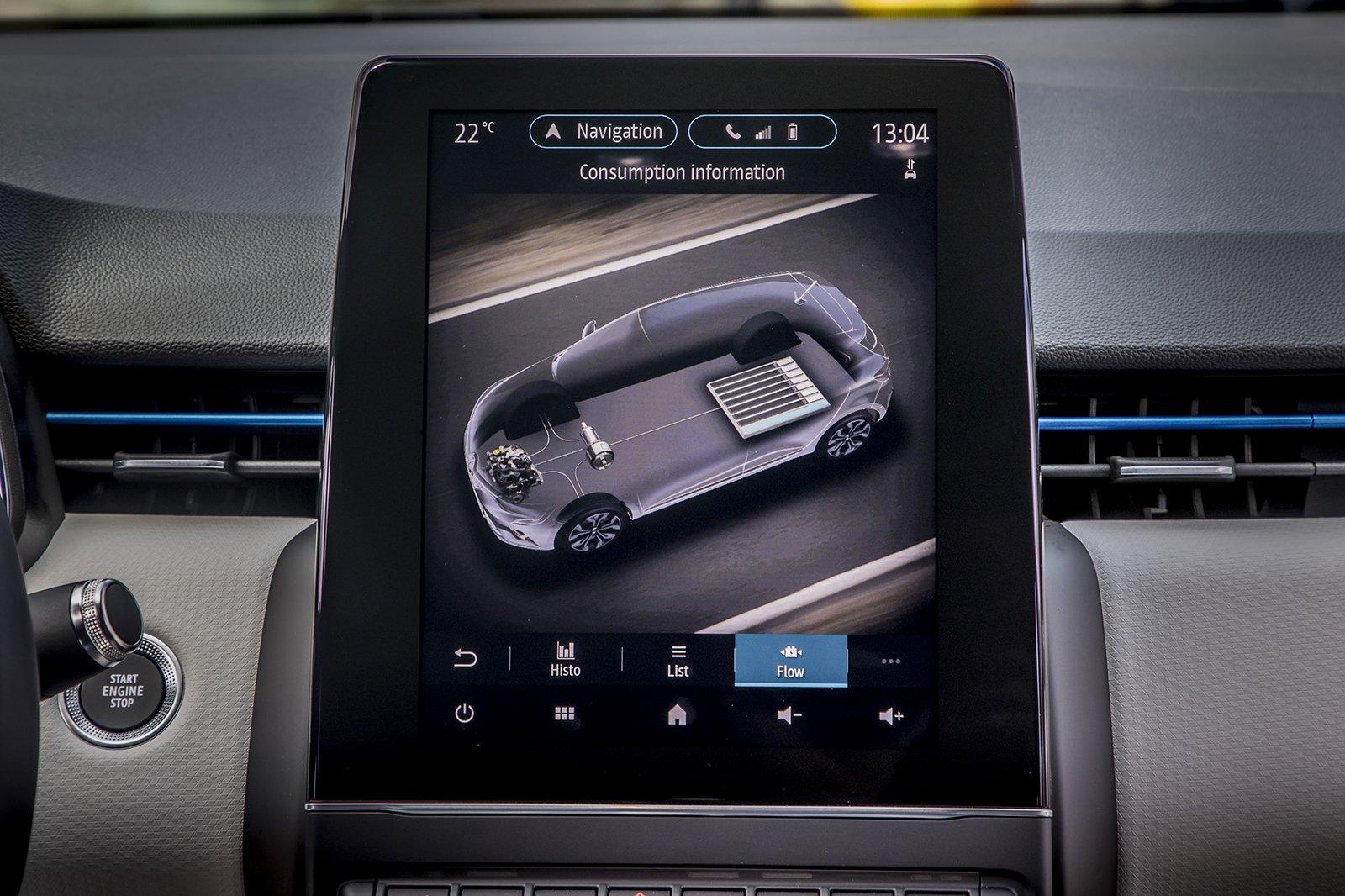 Renault Clio 2020 LHD infotainment