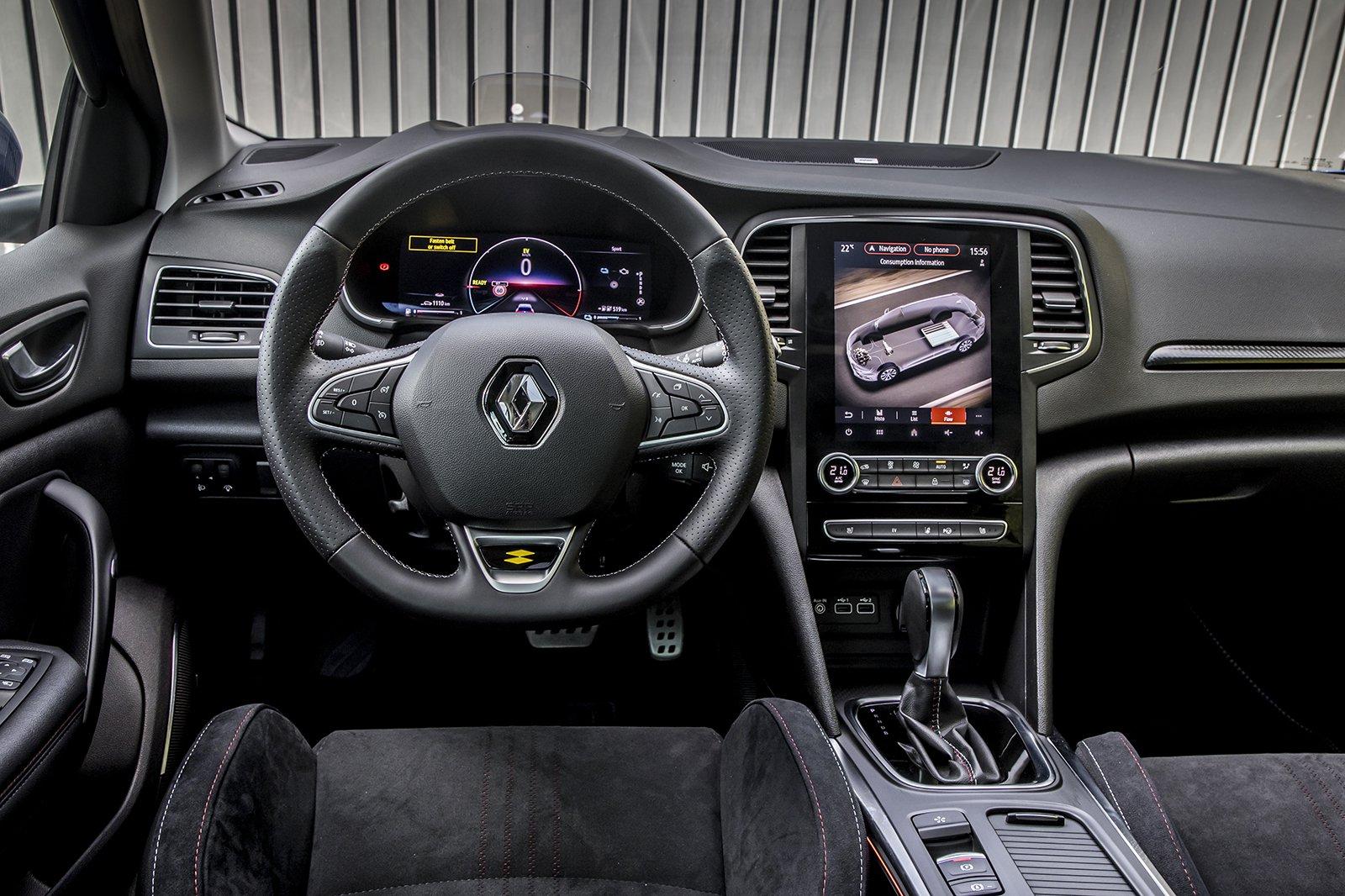 Renault Megane Sport Tourer 2020 LHD dashboard