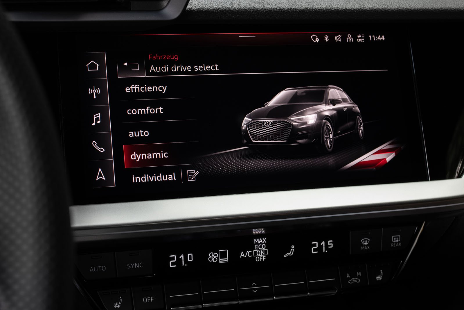 Audi S3 2020 infotainment