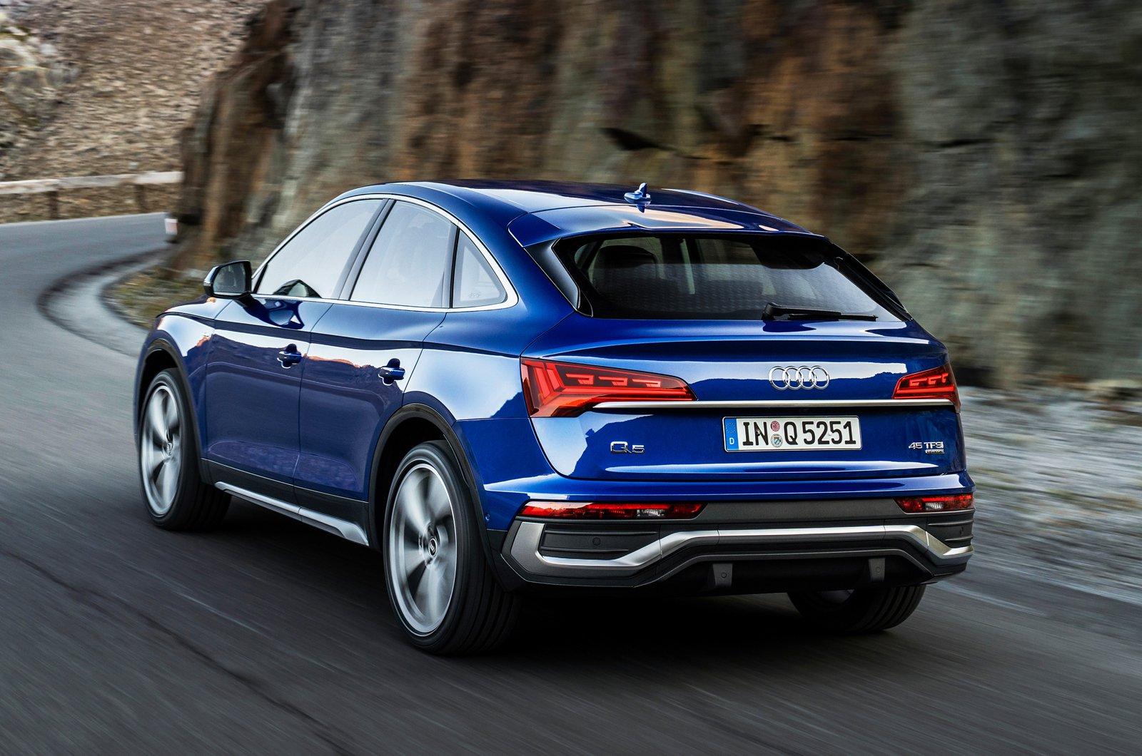 Audi Q5 Sportback rear
