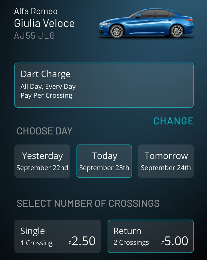 Caura app Dart Charge payment
