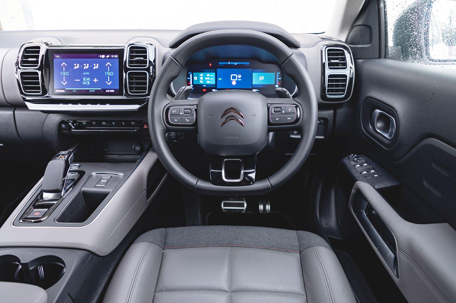 Citroën C5 Aircross 2020 dashboard