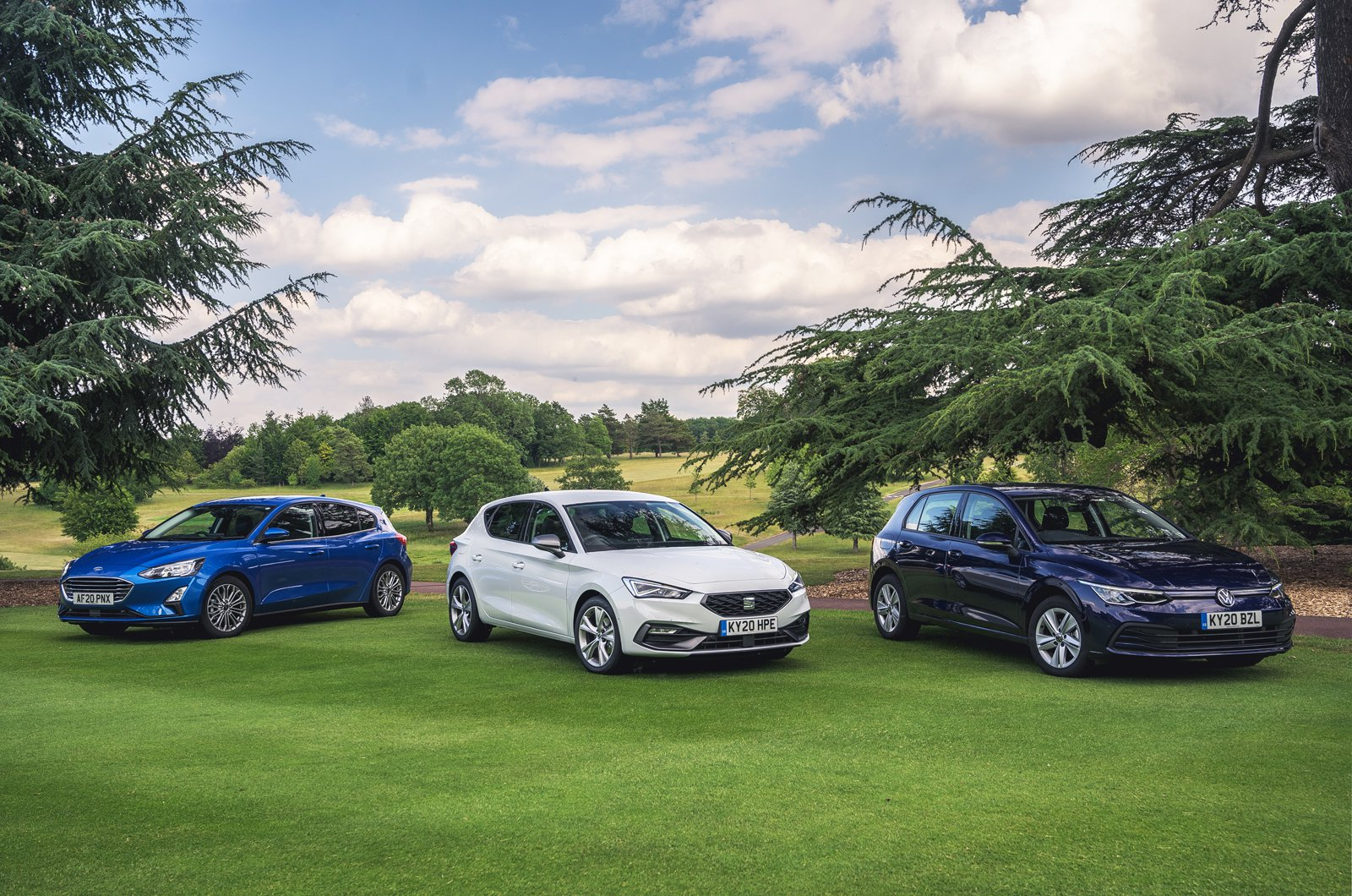 Ford Focus vs Seat Leon vs Volkswagen Golf