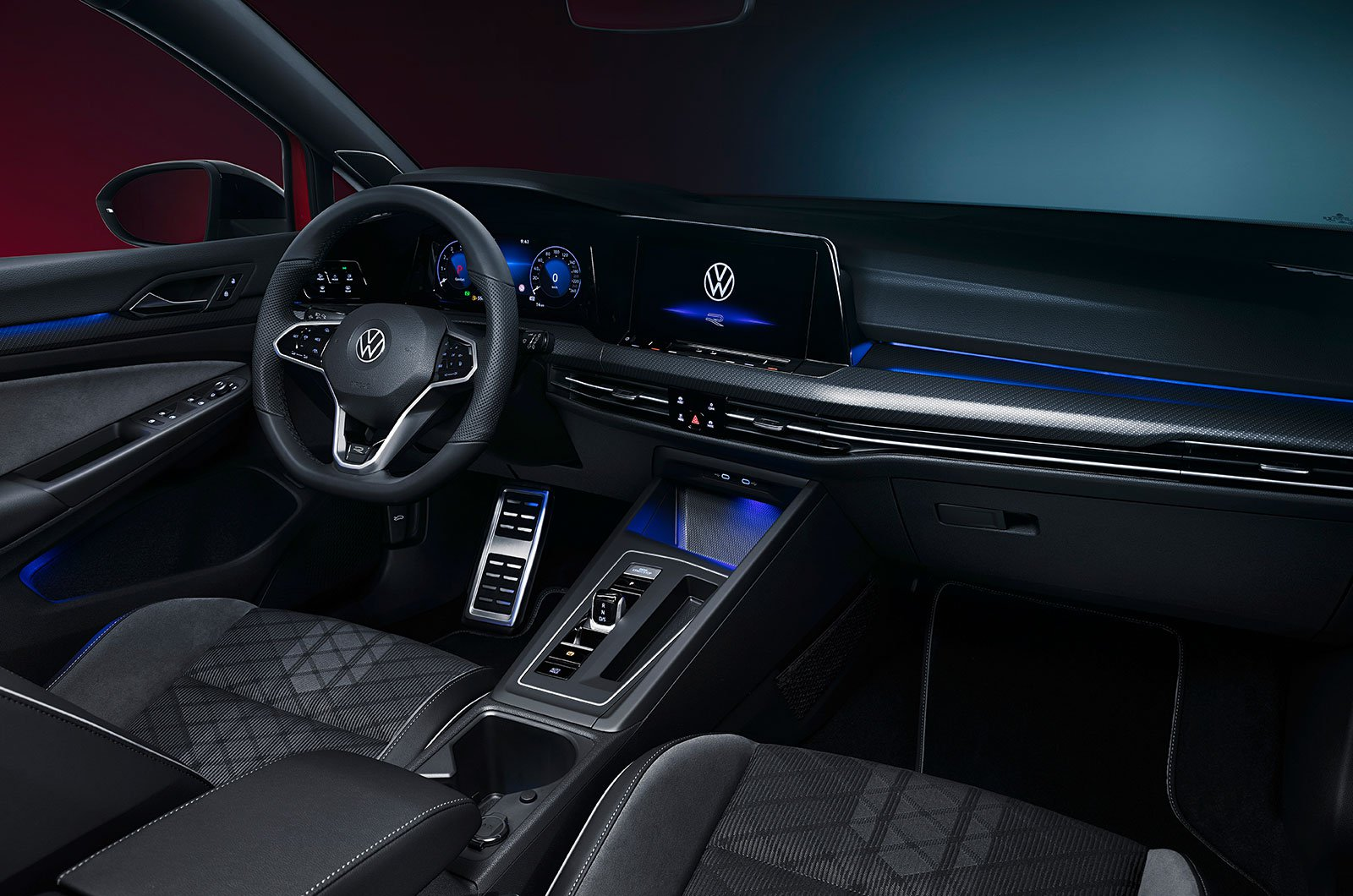 2021 Volkswagen Golf Estate interior