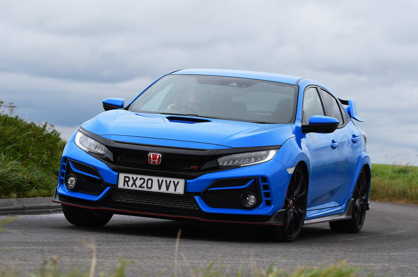 2020 Honda Civic Type R front