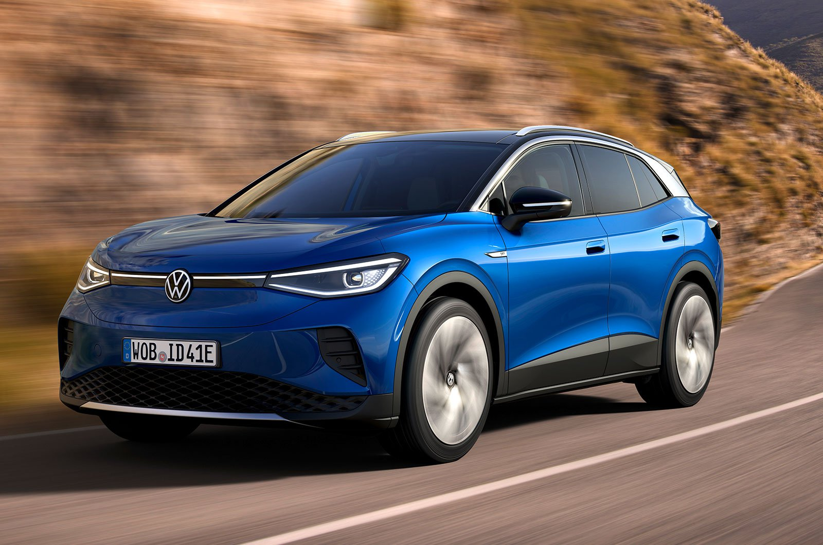 2021 Volkswagen ID.4 front