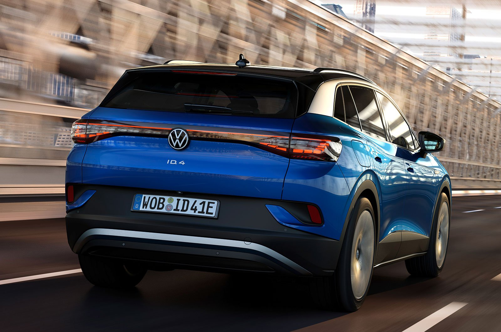 2021 Volkswagen ID.4 rear