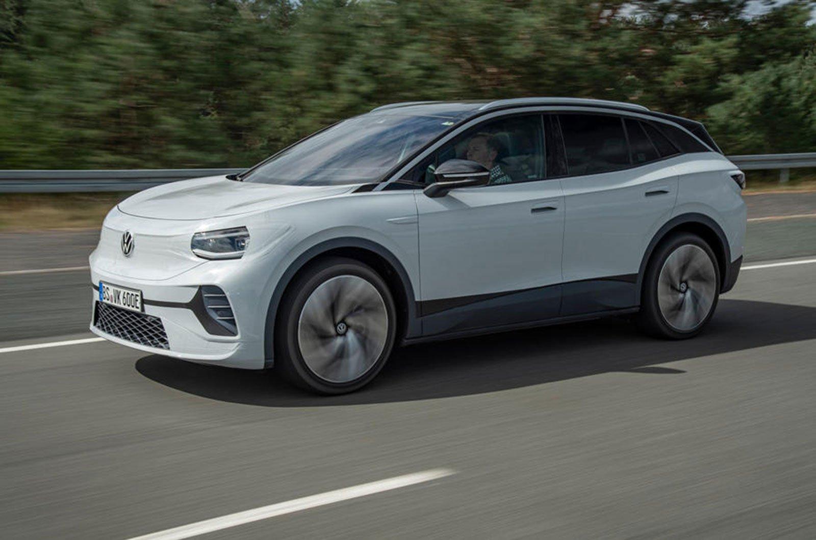 2021 Volkswagen ID.4 prototype side