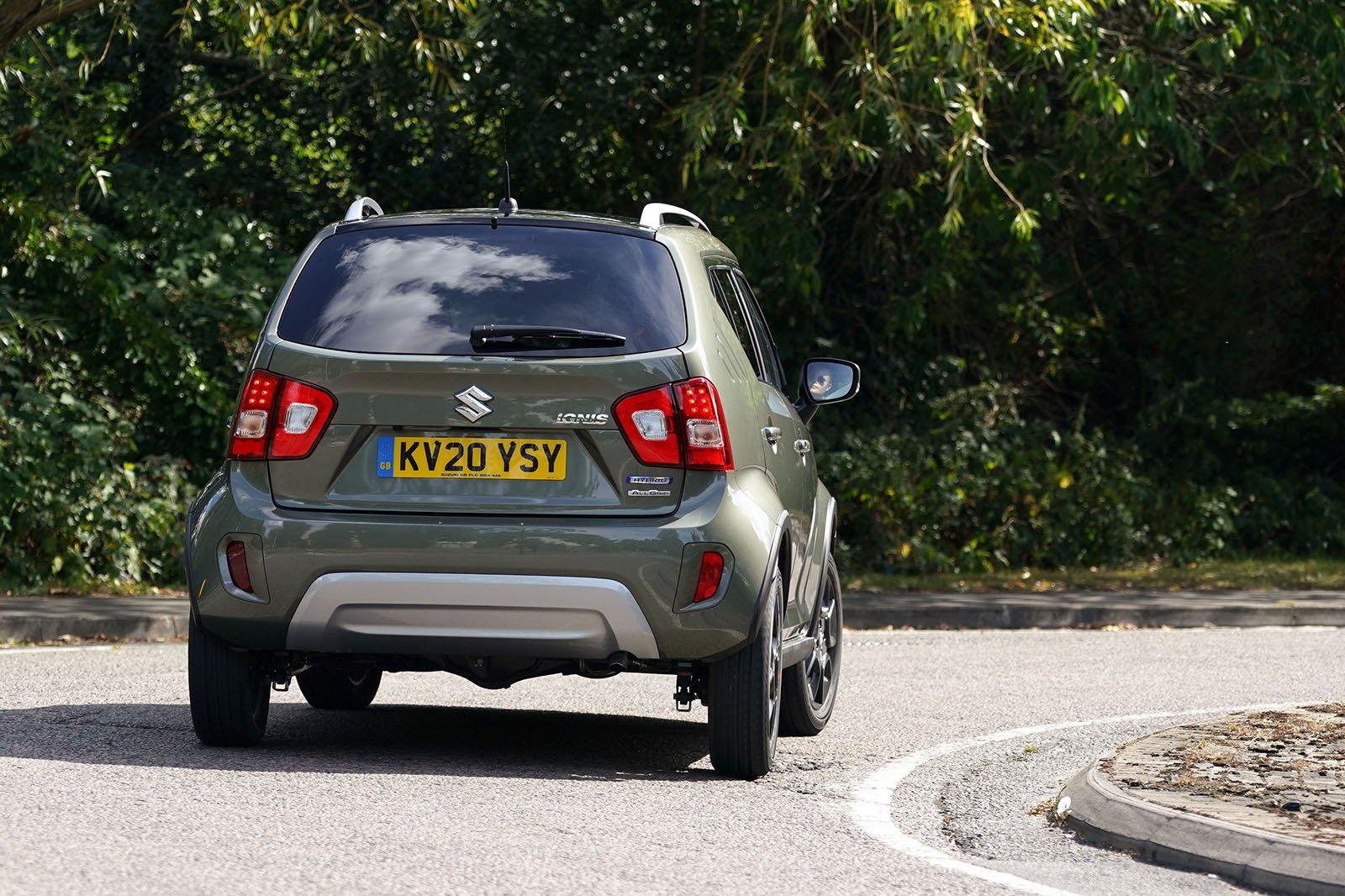 Suzuki Ignis 2021 rear cornering