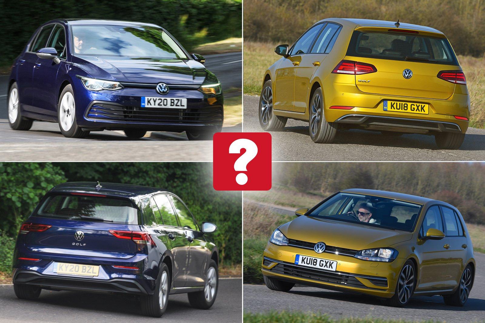 New Volkswagen Golf vs Used Volkswagen Golf